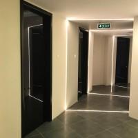 Alüminyum kapı kasalı cam kapı