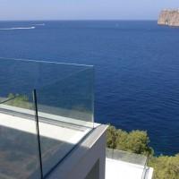 cam balkon küpeştesi